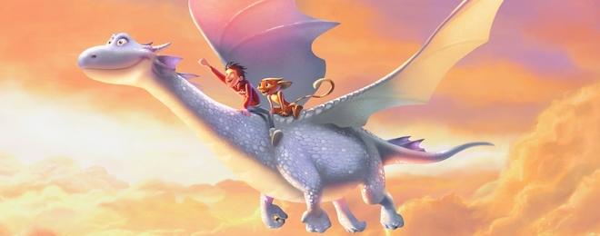 Felicity donne de la voix pour Dragon Rider