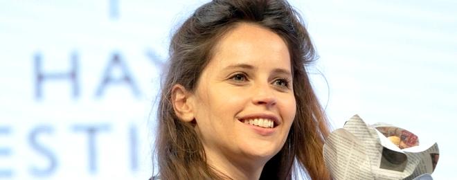 Felicity au Hay Festival